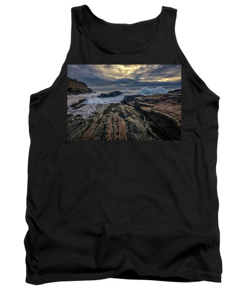 Tank Top featuring the photograph Dawn At Bald Head Cliff by Rick Berk