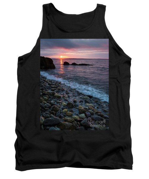 Dawn, Camden, Maine  -18868-18869 Tank Top by John Bald