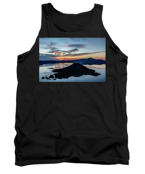 Tank Top featuring the photograph Dawn Inside The Crater by Pierre Leclerc Photography