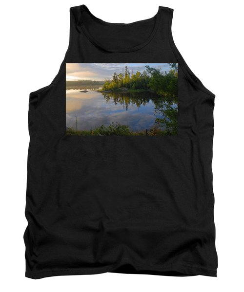 Dawn On The Basswood River Tank Top