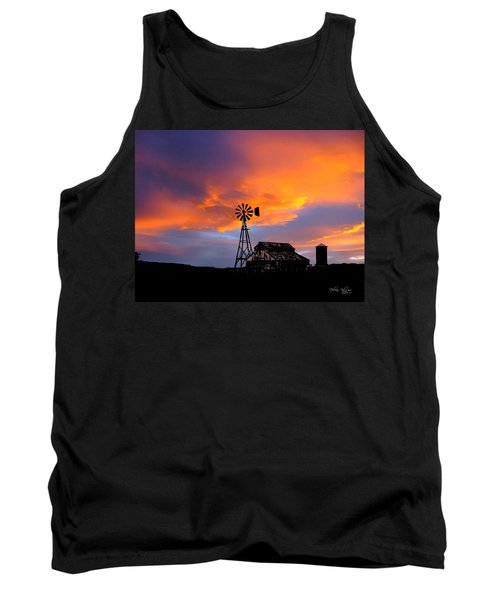 Day Is Done Tank Top