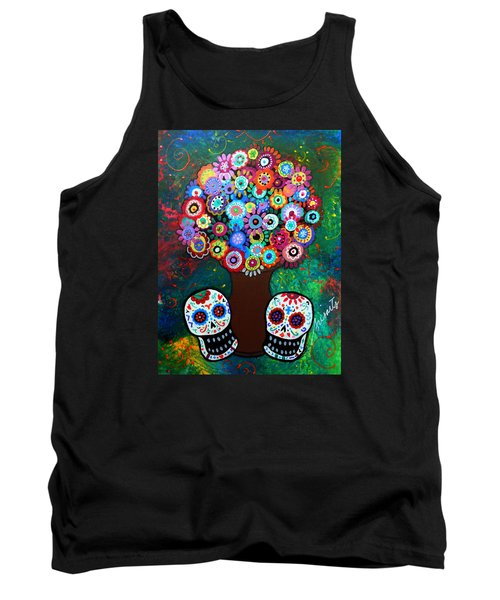 Day Of The Dead Love Offering Tank Top