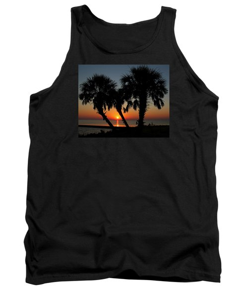 Tank Top featuring the photograph Daybreak by Judy Vincent