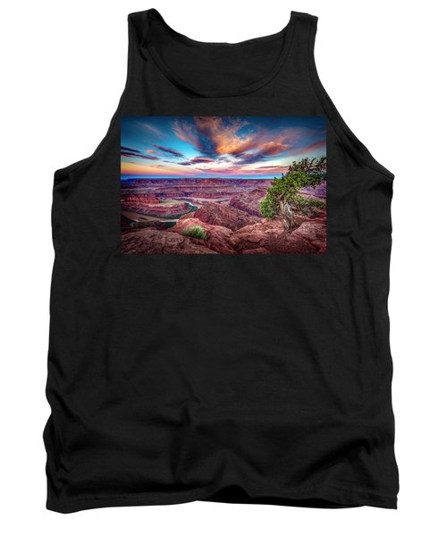 Dead Horse Point At Sunrise Tank Top