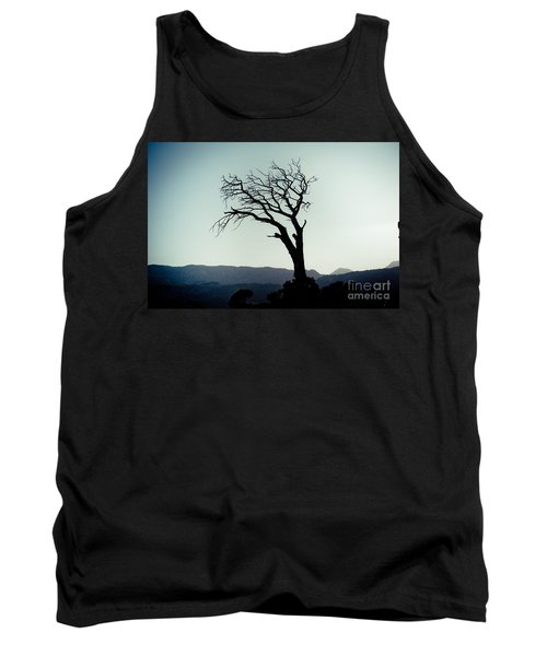 Dead Tree At The Sky Tank Top