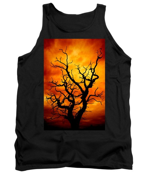 Dead Tree Tank Top by Meirion Matthias