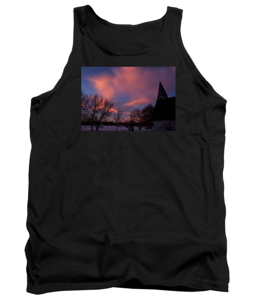 December Skies Tank Top by Ellery Russell