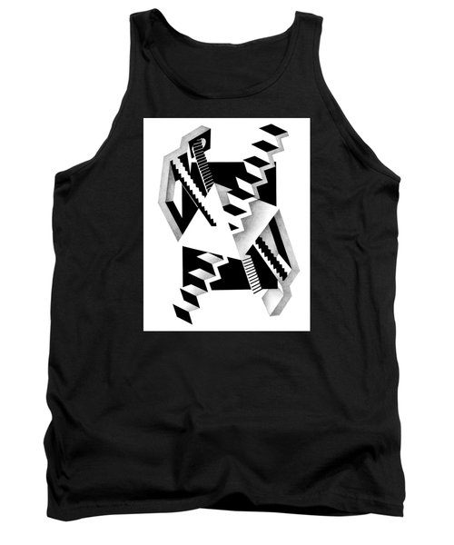 Decline And Fall 3 Tank Top