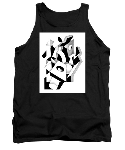 Decline And Fall 8 Tank Top