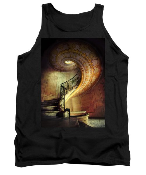 Decorated Spiral Staircase  Tank Top