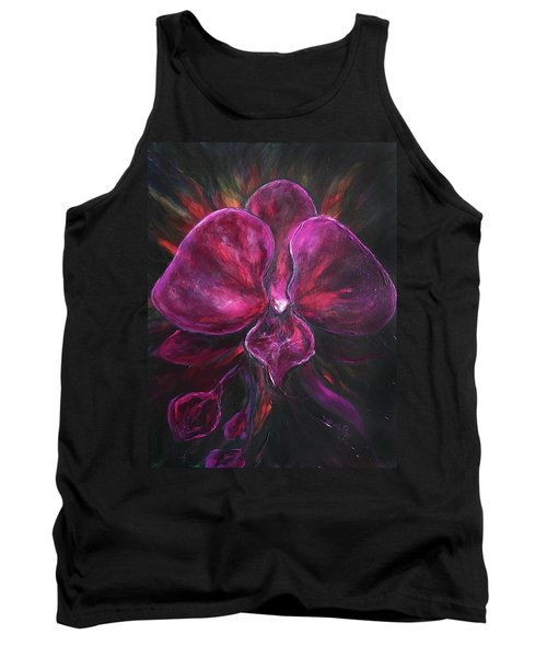 Deep Purple Orchid Tank Top