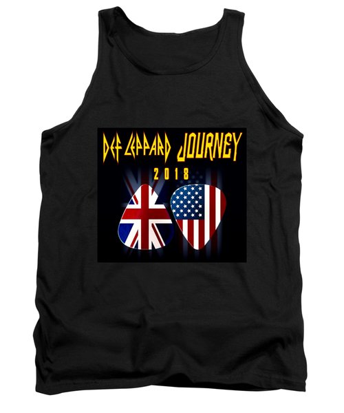 Def Leppard And Journey Tour Tank Top
