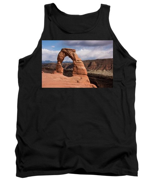 Tank Top featuring the photograph Delicate Arch by Jennifer Ancker