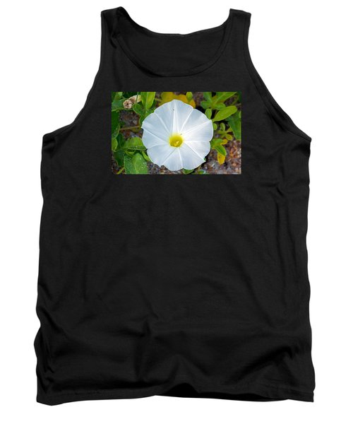 Delicate Beach Flower Tank Top