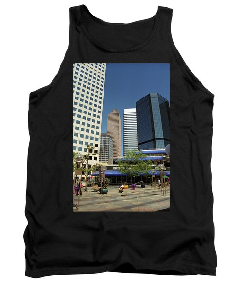 Tank Top featuring the photograph Denver Architecture by Frank Romeo