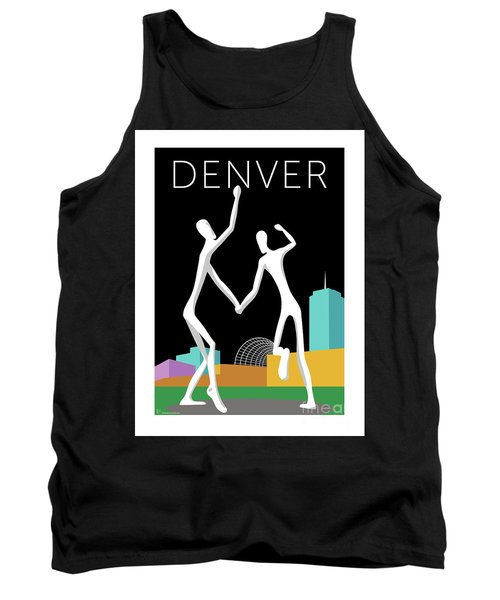 Denver Dancers/black Tank Top