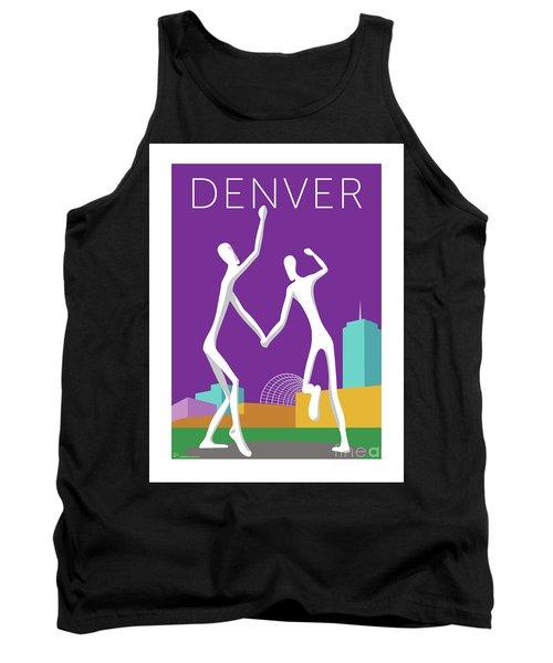 Denver Dancers/purple Tank Top