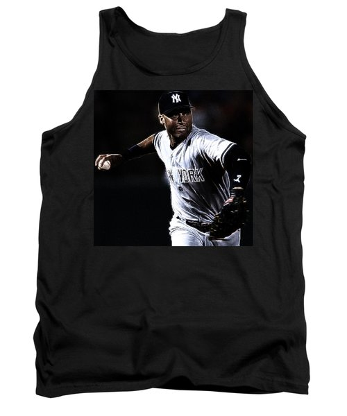 Derek Jeter Tank Top by Paul Ward