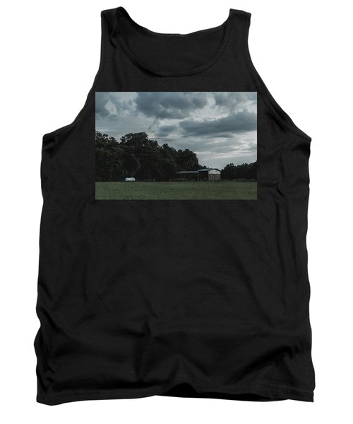 Desaturated Barn Tank Top