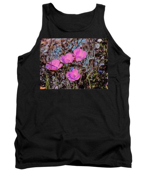 Desert Flowers Abstract Tank Top