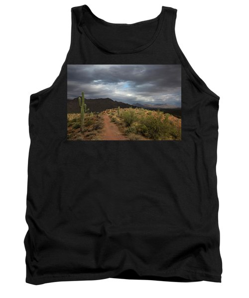Desert Light And Beauty Tank Top by Sue Cullumber