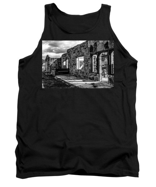 Desert Lodge Bw Tank Top