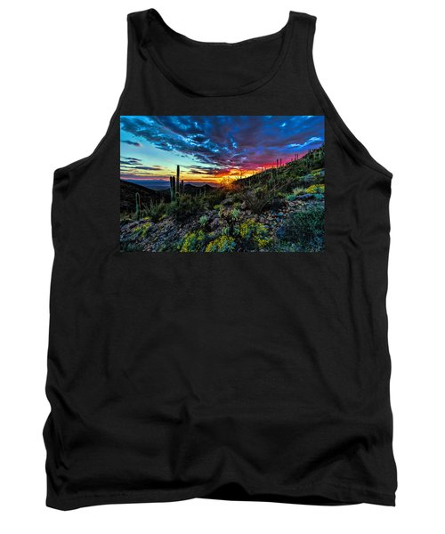 Desert Sunset Hdr 01 Tank Top