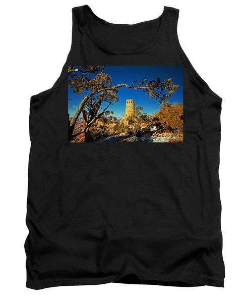 Desert View Watchtower, Grand Canyon National Park, Arizona Tank Top