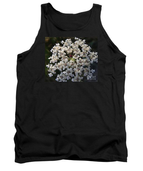 Dew On Queen Annes Lace Tank Top