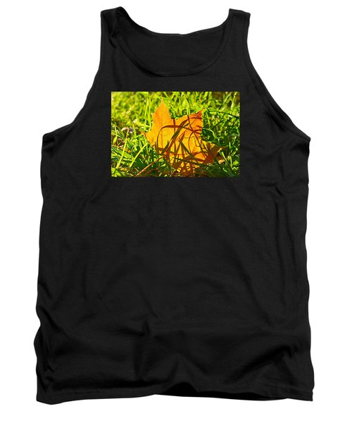 Different Level Tank Top