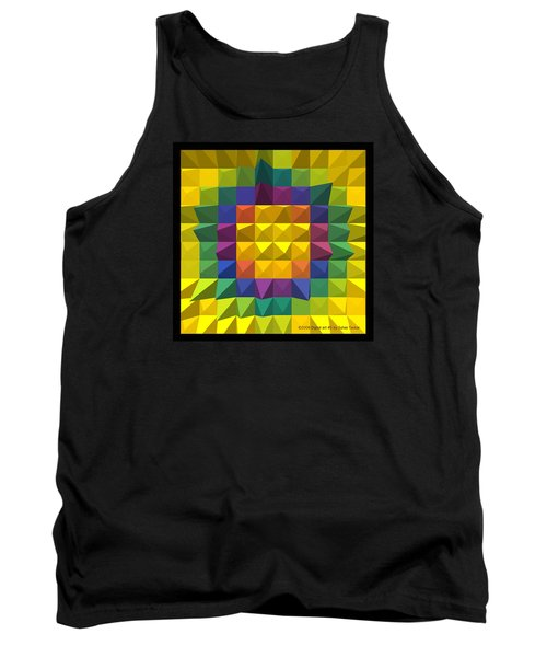 Tank Top featuring the photograph Digital Art 5 by Suhas Tavkar