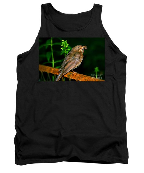 Tank Top featuring the photograph Dinner Time  by Mariola Bitner