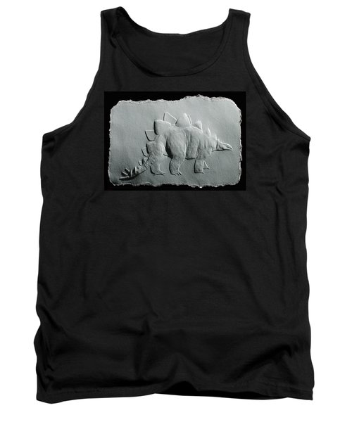 Tank Top featuring the relief Dinosaur by Suhas Tavkar