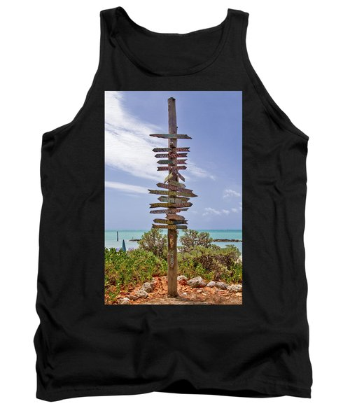 Distance From Key West Tank Top