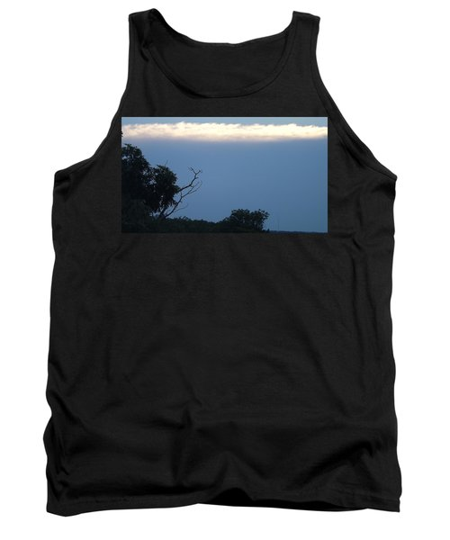 Distant White Clouds Tank Top by Don Koester