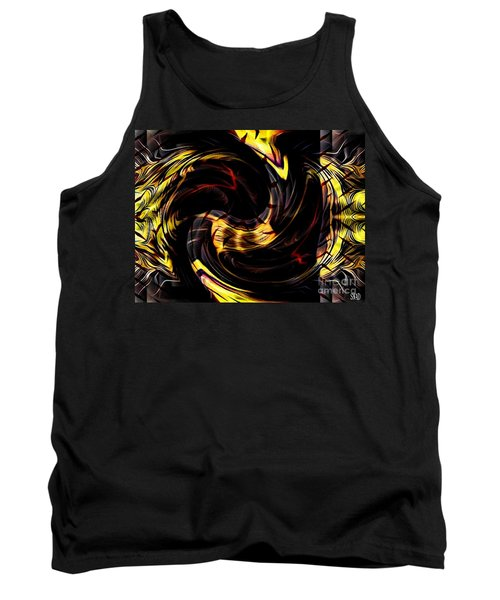 Distraction Overlay Tank Top