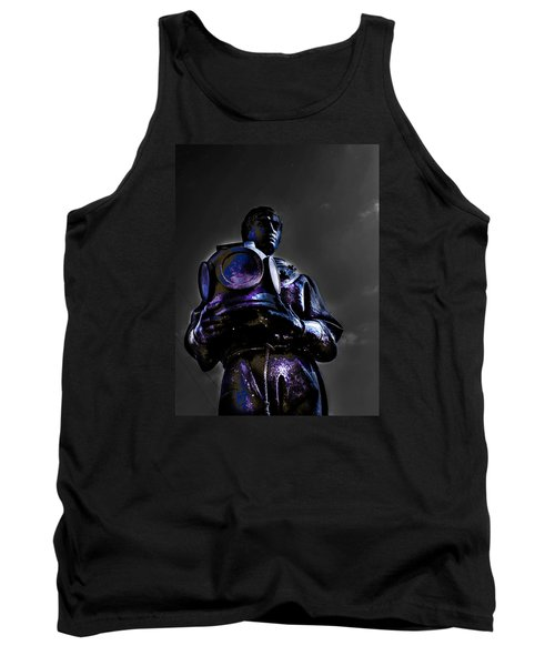 Tank Top featuring the photograph Diver by Randy Sylvia