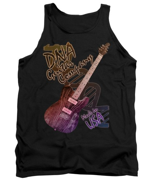 Dna Guitar Company T Shirt 2 Tank Top
