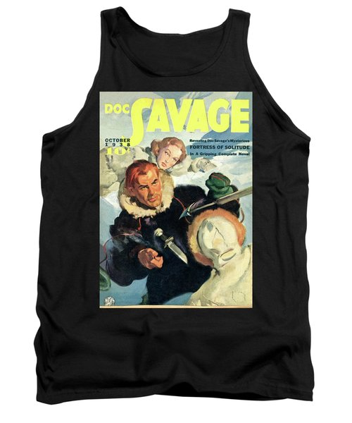 Doc Savage Fortress Of Solitude Tank Top