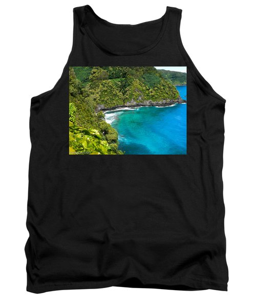 Tank Top featuring the photograph Dolphin Cove by Debbie Karnes