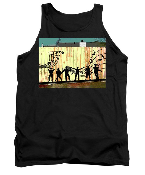 Don't Fence Me In Tank Top by Charles Shoup