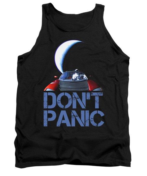 Don't Panic Starman Tank Top