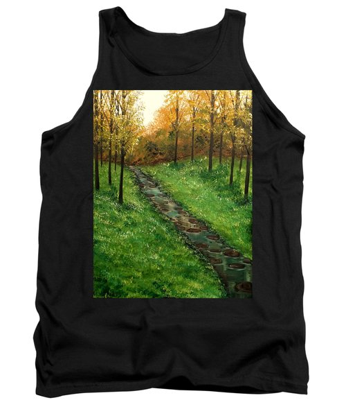 Don't Worry Anymore Tank Top by Lisa Aerts