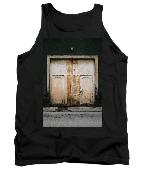 Tank Top featuring the photograph Door No 163 by Marco Oliveira