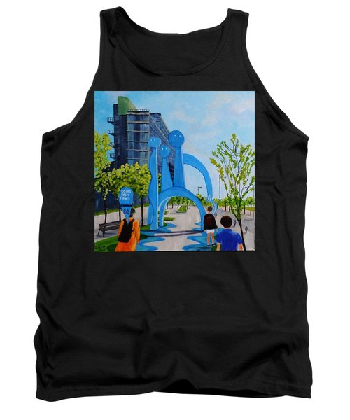 Toronto Canary District - Doors Open Toronto Tank Top