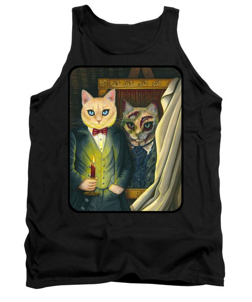 Tank Top featuring the painting Dorian Gray by Carrie Hawks