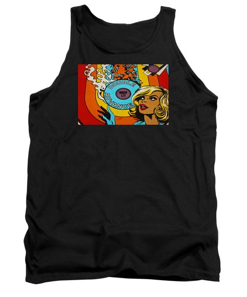 Double Advance - Pinball Tank Top by Colleen Kammerer