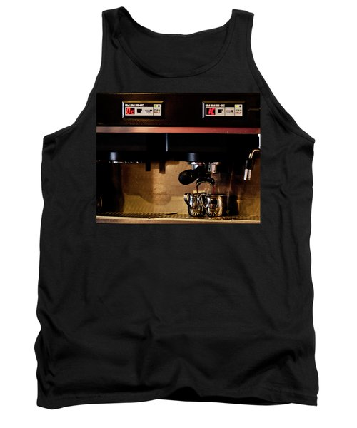 Double Shot Of Espresso Tank Top