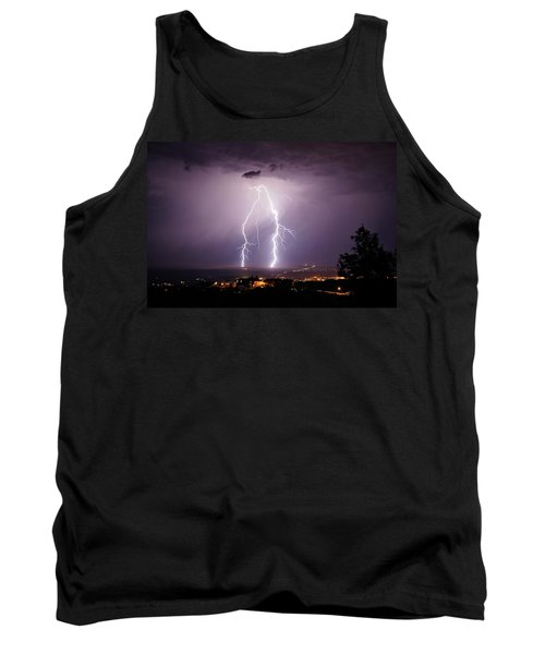 Tank Top featuring the photograph Double Trouble by Ron Chilston