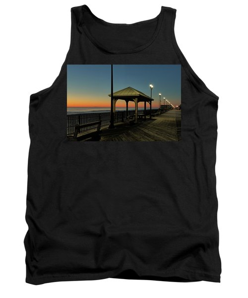 Down The Shore At Dawn Tank Top